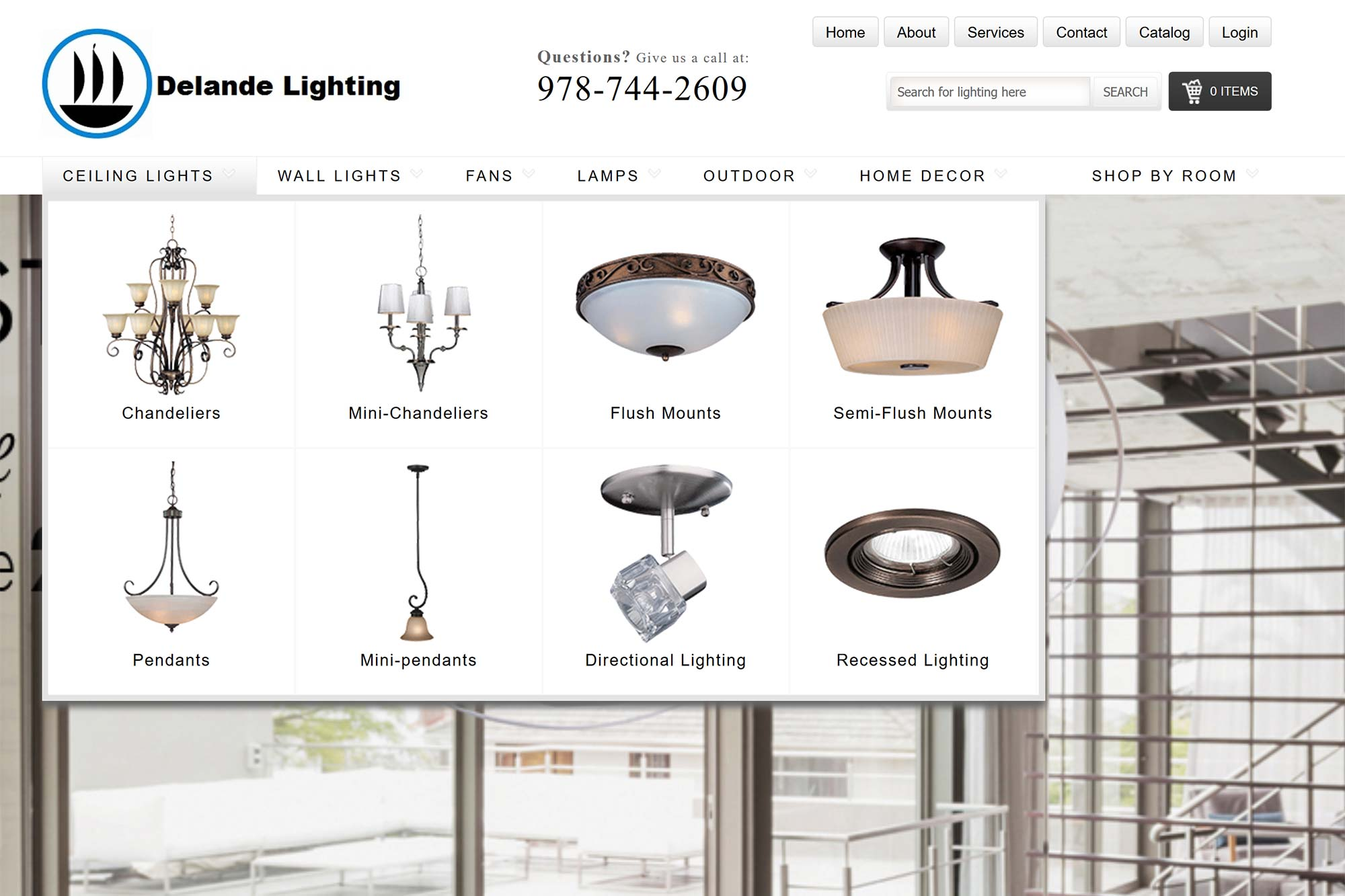 Delande wholesale distributors of electrical supplies and lighting fixtures